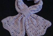 Knit scarf patterns