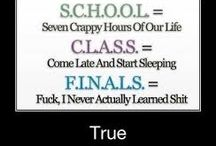 Funny school / is this what you are like