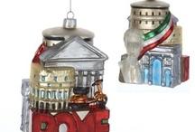 Travel-themed Christmas Tree