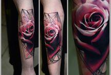 tatoo red berry