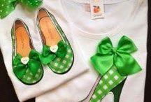 High heel shoe appliqué on Tshirt
