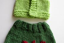 pletení na panenky