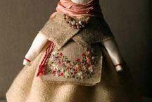 Народные куклы и игрушки. Русский стиль.
