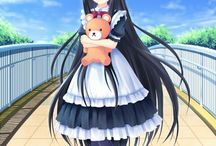 Anime Maid Girls