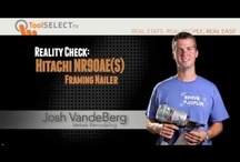 Nailers - Framing Nailers / by ToolSELECT.com