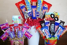 Lolly/food Bouquets gift baskets
