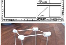 20.4 - mathematical thinking / build three-dimensional structures using a variety of materials and identify the three dimensional figures their structure contains