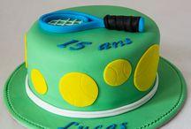 gâteau thème TENNIS