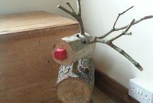 Holz Weihnachten