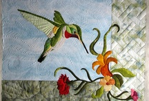 Hummingbird Quilt Ideas / by Mel Beach