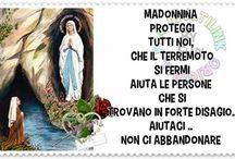 madonnina cara  aiuta tutte le persone bisognose specialmente in questi giorni veramente tristi per i terremotati