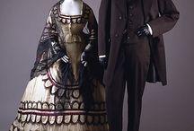 Antique Fashion 1860's / by Jennifer Thompson