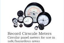Record Electrical Associates Ltd / Record Electrical are UK suppliers of hand built instrumentation and reliably accurate meters.  Products include; panel meters, moving coil meters, marine panel maters, coil indicator panel meters, speedometers, chart recorders, volt meters, ATEX flow meters and tachometers. As well as this we have ATEX certification and supply a wide range of ATEX instruments.