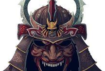 Máscara japonesas