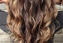 Long hair with curls / TAFE