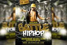 Flyer / Poster Design Graphicriver / Party Flyer / Poster PSD Template
