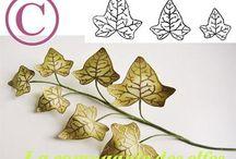 tampon fleur / tampon fleur botanique