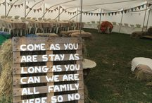 Rustic Charm / A wedding that's authentic, honest and inescapably charming.