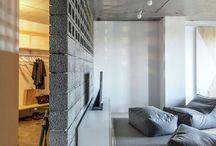 interior - divider / separates sides