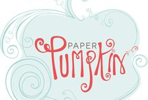 Paper Pumpkin Kits! / For paper crafting fun delivered right to your mail box, I adore Paper Pumpkin from Stampin' Up!  All you need is adhesive, and your kit!  All precut paper project supplies are included along with plenty of embellishments.  I'm delighted to offer these to you on a monthly or pre-paid basis!  http://beverlygerard.stampinup.net