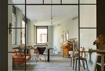 Glass walls