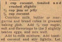 Cake/Puddings Recipes