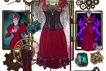 Steam Punk Clothes / Costumes and fashion for the Steam punk Genre. Dr. who Western Victorian Celtic Faerie