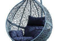 Deco | Fauteuil suspendu / eggchair / #fauteuil #suspendu #egg #chair #eggchair