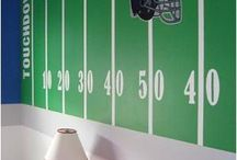 NY Giants Nursery / Totally what Jim wants. I'm not on board yet / by Beth Norris