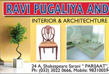 Interior Designing & Decoration /     AT AN AFFORDABLE PRICE INTERIOR DESIGNING, PLANNING,& DECORATION ON TURN-KEY BASIS OF OFFICES, HOMES, FLAT, BUNGALOW, SHOWROOMS, RESTAURANTS ETC. A TO Z OF INTERIORS UNDER ONE ROOF.