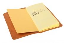 Notebooks, etc.