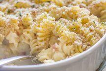 Rotini chicken pasta