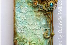 Steampunk & mixed media