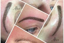 Eyebrow tattoo - Semi Permanent Brows / I finally did it!!! After many years of contemplation I decided to get my brows tattooed or semi permanent brows as my practitioner calls them.