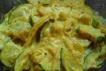 Courgette lait de coco curry