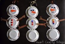 Winter ~  Iarna / Winter kids crafts ~ Activitati de Iarna