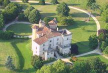 Parleboscq / Commune des Landes dans le vignoble de l'Armagnac, Gascogne, France