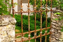 gates,walls,fences,and pathways