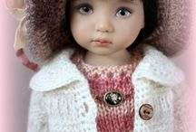R&M dollfashion / R&M dollfashion OOAK hand-knitted outfits for different dolls