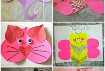 Valentine animals / Animali cartoncino