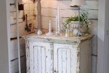 Shabby chic and rustic