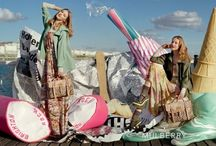 Mulberry 2012 Frida Gustavsson and Lindsey Wixson by Tim Walker