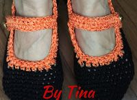 Sapatos de crochê (Crochet shoes)