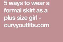 Plus size tips