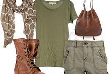 Safari style clothing