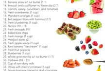 Recipes & Healthy Snacks