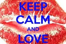 Mots, citations, keep calm ...