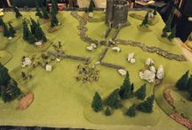 Countryside scenery / A collection of inspirational images depicting terrain pieces for battles in wilderness and rural areas of the Warhammer World.