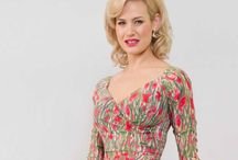 Bombshell Summer 2016 Liberty print fabric dresses / Beautiful Bombshell wrap dresses made in London, England in sizes UK 8-22 with love.  We use stunning Liberty print fabrics. www.bombshellhq.com