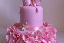 Ballerinas / cakes, cupcakes, cookies & toppers ideas